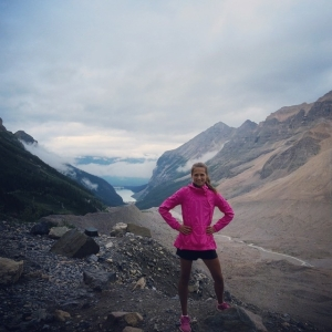 Hiking around Lake Louise